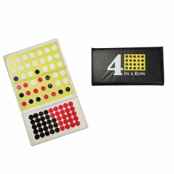 4-in-a-Row Magnetic Checkbook Set