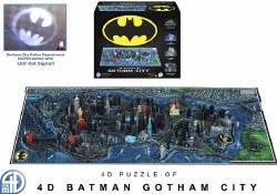 4D Gothman City Puzzle