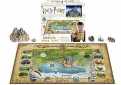 4D Harry Potter Hogwarts Puzzle