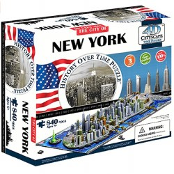 4D New York City Puzzle