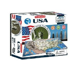 4D USA Puzzle
