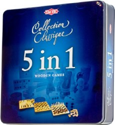 5 in 1 Classic Wooden Games