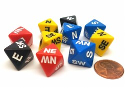 8-Sided Compass Dice
