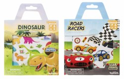 Activity Sticker Kit: Racers or Dinos