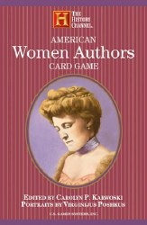 American Women Authors Playing Cards Game