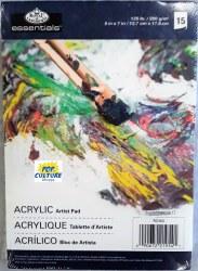 Artist Pad: 5x7 Acrylic