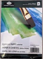 Artist Pad: 5x7 Canvas Paper