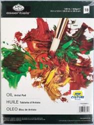 Artist Pad: 9x12 Oil