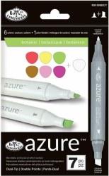 Azure Markers - 7 pc Botanic