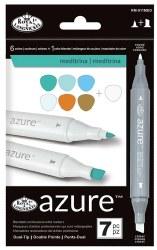 Azure Markers - 7 pc Meditrina
