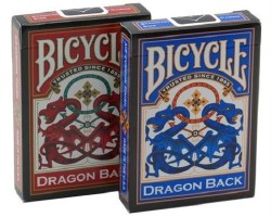 Bicycle Dragon Back Standard Playing Cards