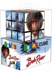 Bob Ross Rubik's Cube