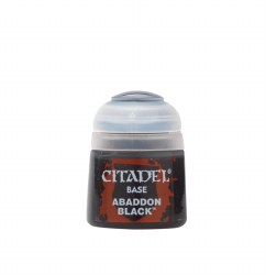 Citadel Paint: Base Abaddon Black