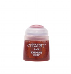 Citadel Paint: Base Khorne Red