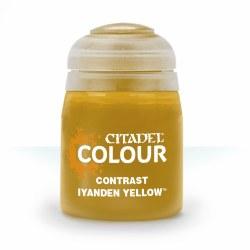 Citadel Paint: Contrast Iyanden Yellow
