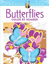 Color by Number: Butterflies