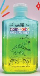 Crazy Aaron's Hand Sanitizer: Clean-O-Saurus