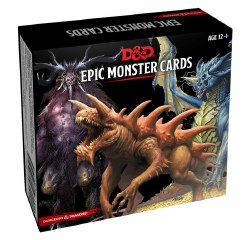 Dungeons & Dragons 5e Epic Monster Cards
