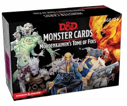 Dungeons & Dragons 5e Monster Cards: Mordenkainen's Tome of Foes