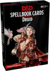 D&D Spellbook Cards Druid