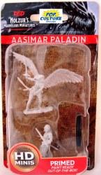 D&D HD Minis: Aasimar Paladin (Female)
