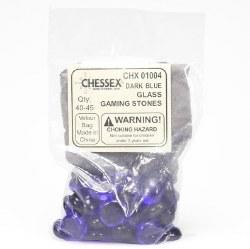 Stones - Dark Blue Glass