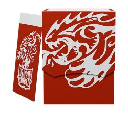 Dragon Shield Deck Shell - Red/Black
