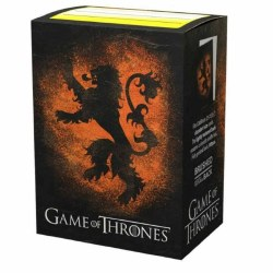 Dragon Shield 100 Brushed Art Game of Thrones House Lannister