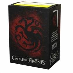 Dragon Shield 100 Brushed Art Game of Thrones House Targaryen