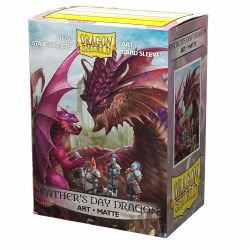 Dragon Shield: 100 Art Matte Father's Day Dragon Sleeves
