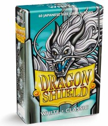 Dragon Shield Sleeves: 60 Small Classic White