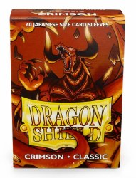 Dragon Shield Sleeves: 60 Small Classic Crimson