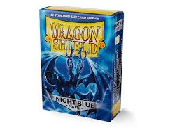 Dragon Shield Sleeves - Small Night Blue 60 ct.