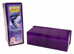 Dragon Shield 4 Compartment Storage Box: Purple