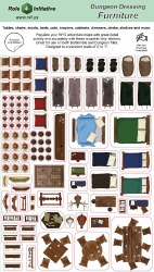 Role 4 Initiative Dungeon Dressing: Furniture