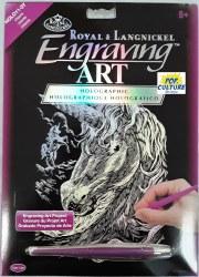 Engraving Art - Holo Foil: Unicorns