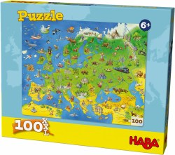 HABA Puzzle: Europe Map 100pc