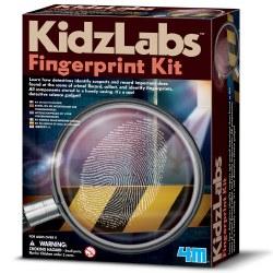 Detective Science: Fingerprint Kit