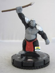 Heroclix The Flash 008 Gorilla City Soldier