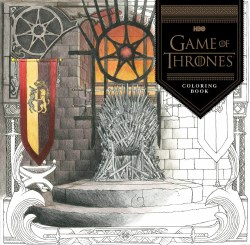 Game of Thrones HBO Coloring Book