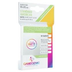 Gamegenic Standard American Matte Sleeves - 57x89mm