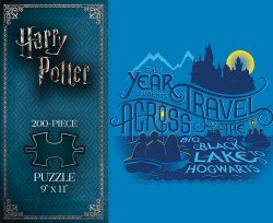 Harry Potter: Journey to Hogwarts 200-Piece Puzzle
