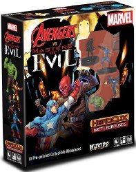 Heroclix Battlegrounds Avengers vs. Masters of Evil Starter Set