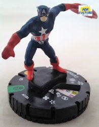 Heroclix Captain America & the Avengers 018a Captain America