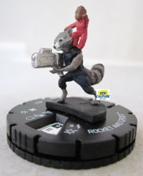 Heroclix Guardians of the Galaxy v.2 010 Rocket and Groot