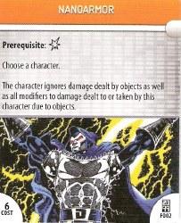 Heroclix Marvel 2099 F002 Nanoarmor