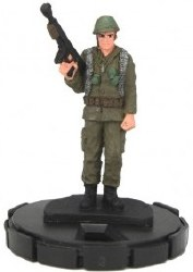 Heroclix DC 75th Anniversary 001 Easy Company Solider