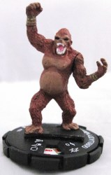 Heroclix DC 75th Anniversary 004 Gorilla City Warrior