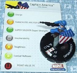 Heroclix Avengers 001 Captain America