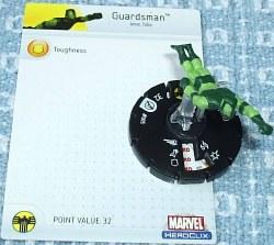 Heroclix Avengers 005 Guardsman